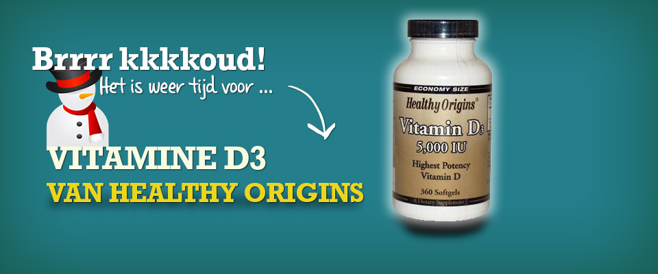 Vitamine D van Healthy Origins