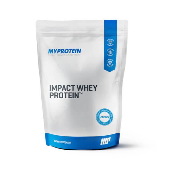 Impact Whey Protein Banana 2.5KG MyProtein