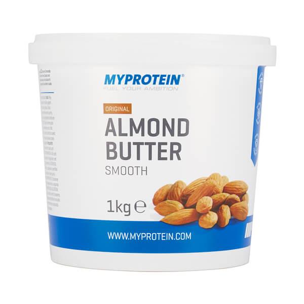 Almond Butter Smooth - Tub - 1kg - MyProtein | www.Sjopz.com |