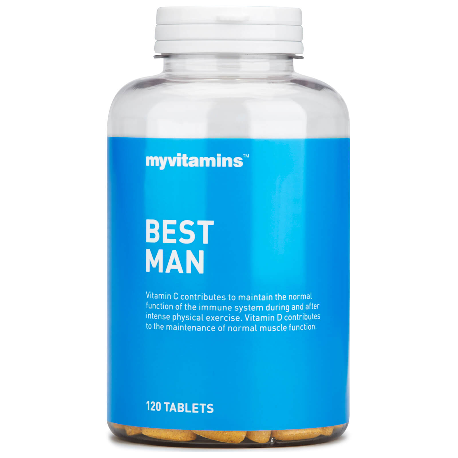 Myvitamins Best Man (120 Tablets) Myvitamins