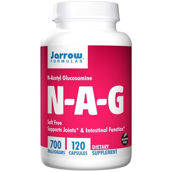 N A G 700 mg (120 Vegetarian Capsules) Jarrow Formulas