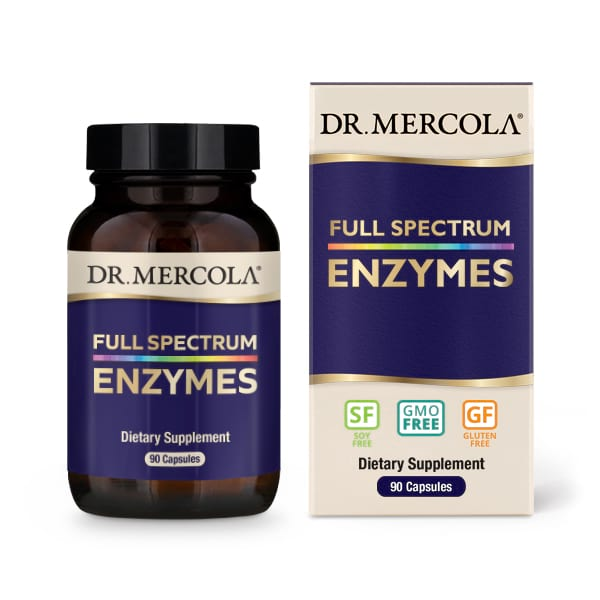 Full Spectrum Enzymes (90 Capsules) Dr. Mercola