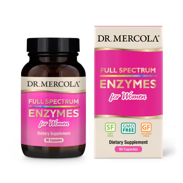 Full Spectrum for Women Enzymes (90 Capsules) Dr. Mercola Dr. Mercola te koop