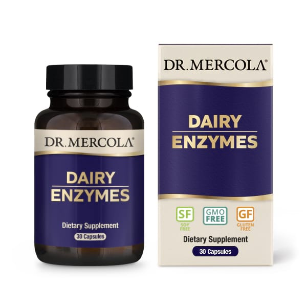 Dr. Mercola Dairy Enzymes (30 Capsules) Dr. Mercola