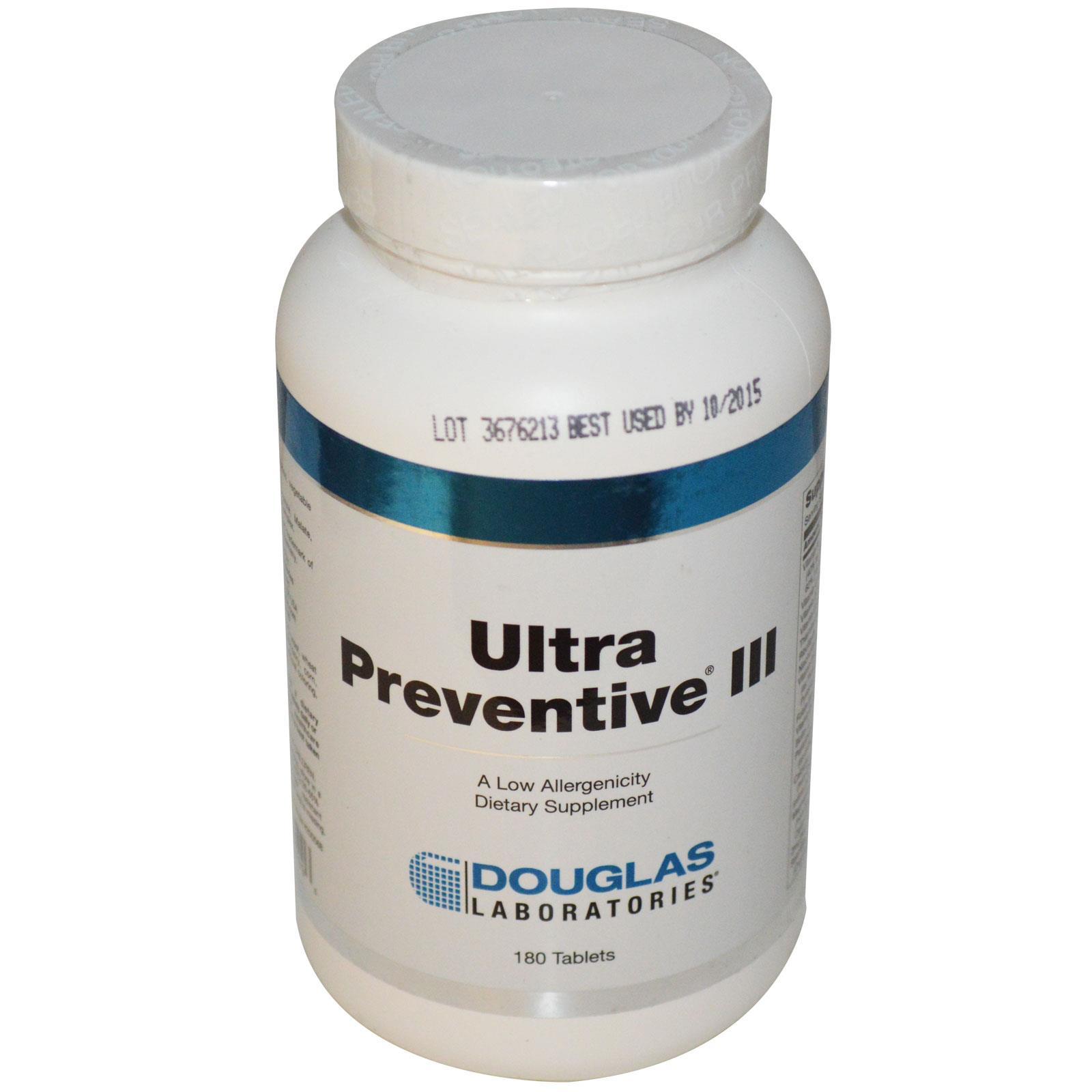 Douglas Laboratories,Ultra preventieve III (180 tabletten)