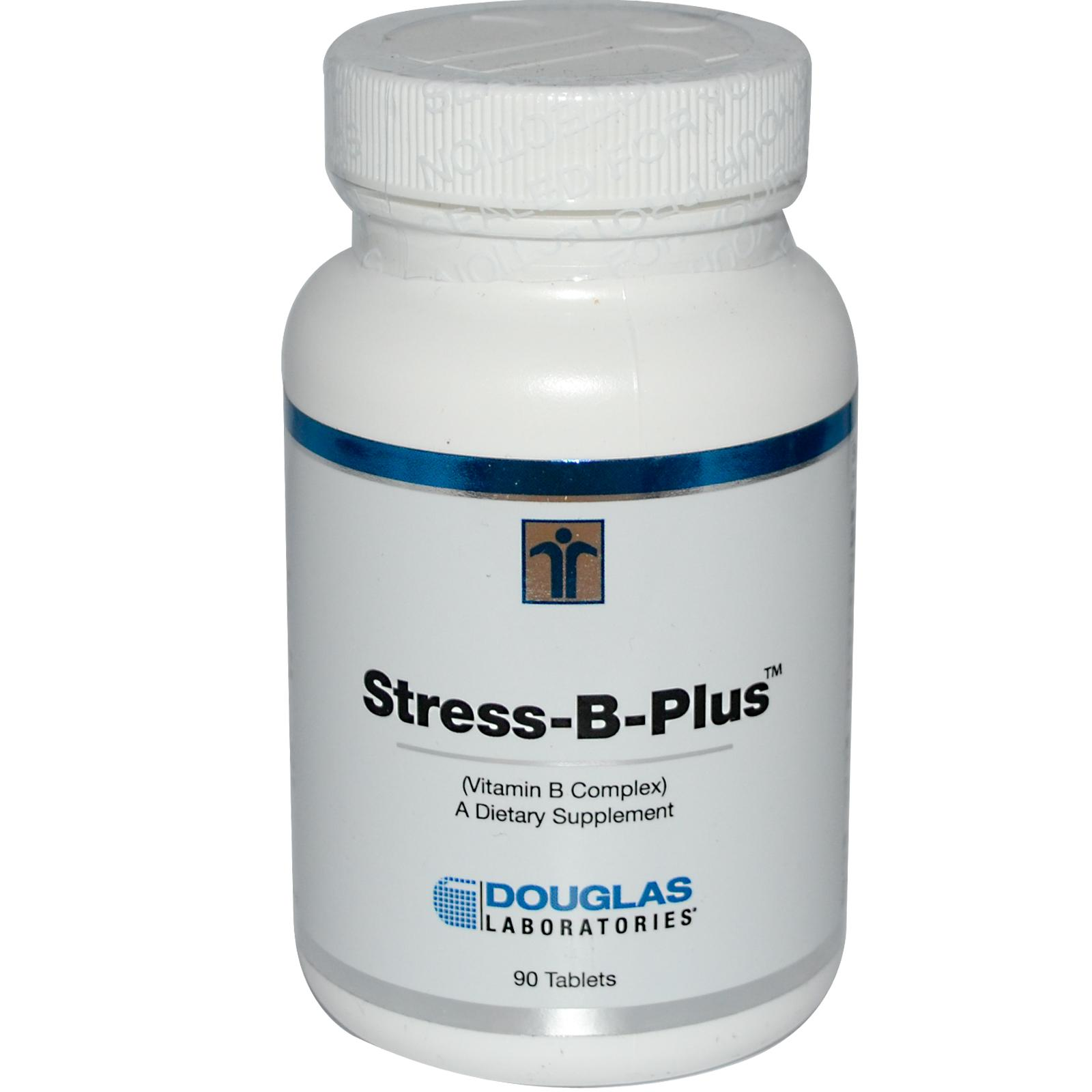 Stress B Plus vitamine B Complex (90 tabletten) Douglas Laboratories