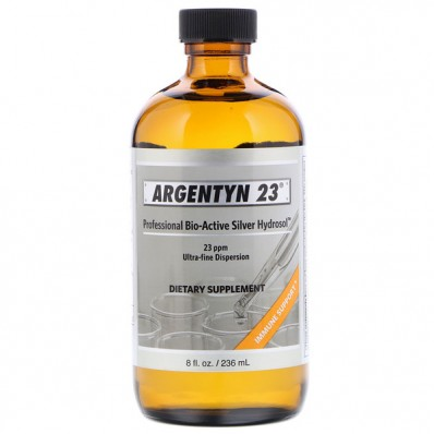 Argentyn 23 Professional Bio Active Silver Hydrosol 8 fl oz (236 ml) Allergy Research Group