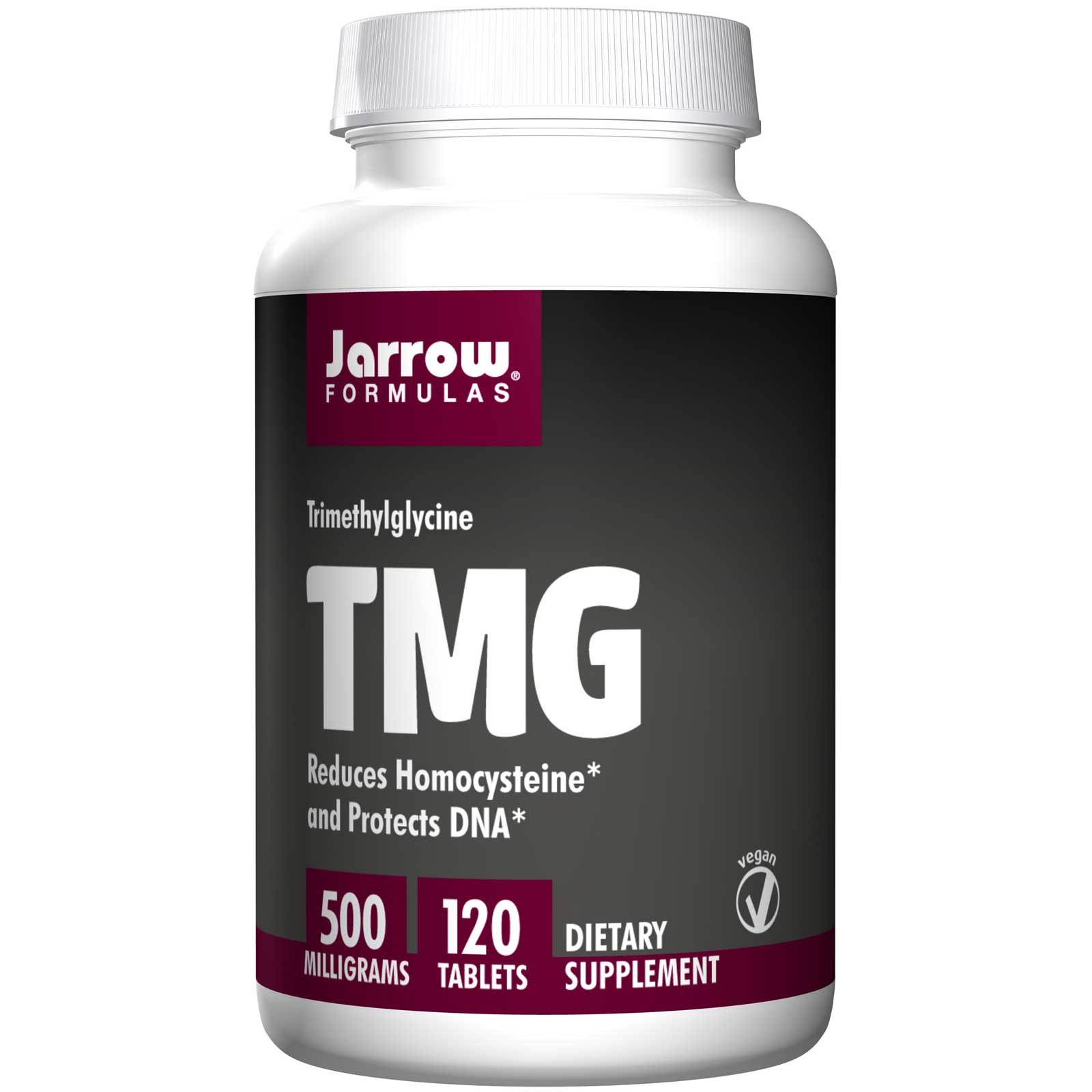 TMG Trimethylglycine 500 mg (120 tablets) Jarrow Formulas