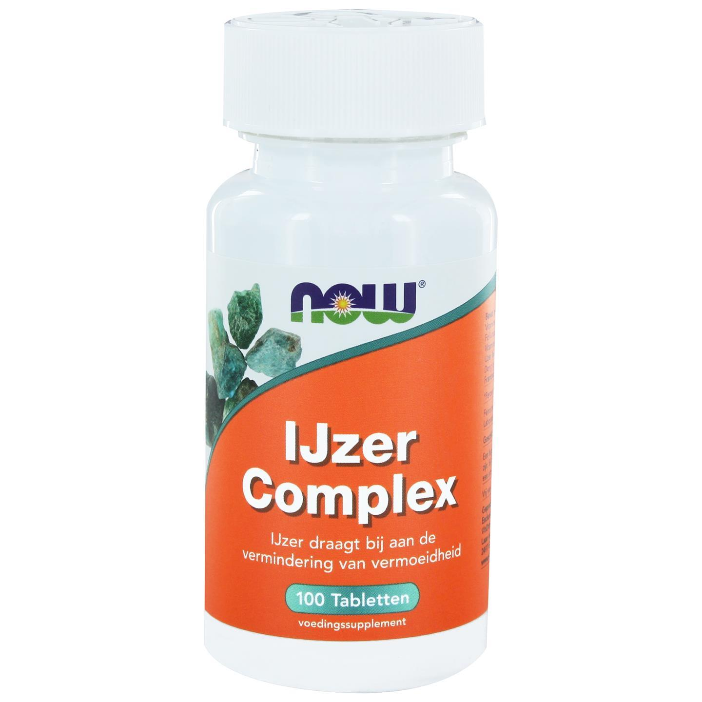 IJzer Complex (100 tabs) NOW Foods