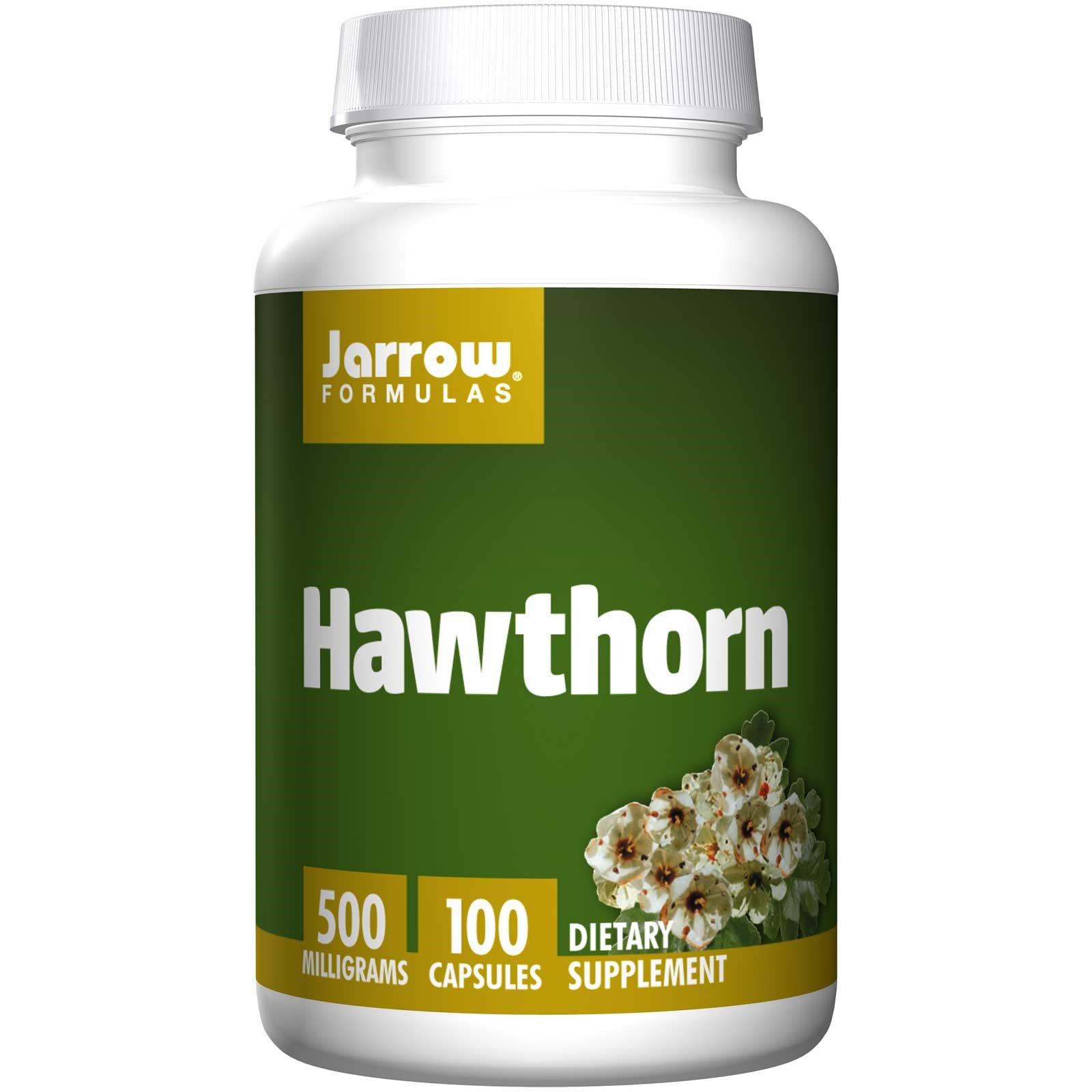 Hawthorn 500 mg (100 Capsules) Jarrow Formulas, Hawthorn (Crataegus oxycantha) has been used for centuries.Extra gegevens:Merk : Jarrow FormulasVerzendkosten : 3.95Levertijd : Vóór 23.00 besteld op werkdagen is morgen in huis.