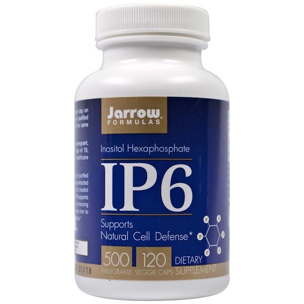 IP6 Inositol Hexaphosphate 500 mg (120 Vegetarian Capsules) Jarrow Formulas