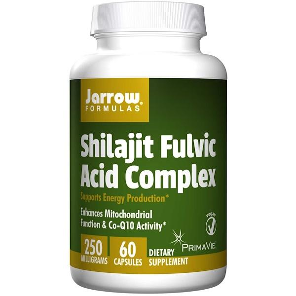 Shilajit Fulvic Acid Complex (60 Vegetarian Capsules) Jarrow Formulas