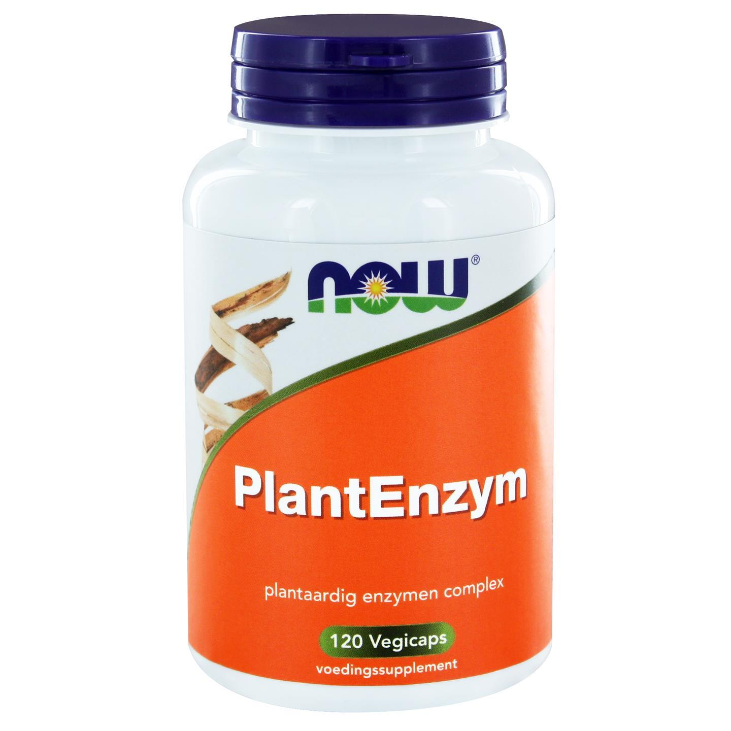 PlantEnzym (120 vegicaps) NOW Foods