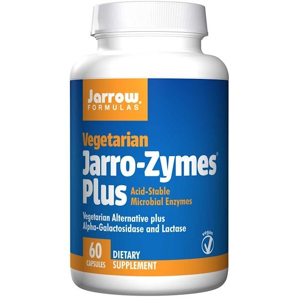 Jarro Zymes Plus Vegetarian (60 Vegetarian Capsules) Jarrow Formulas