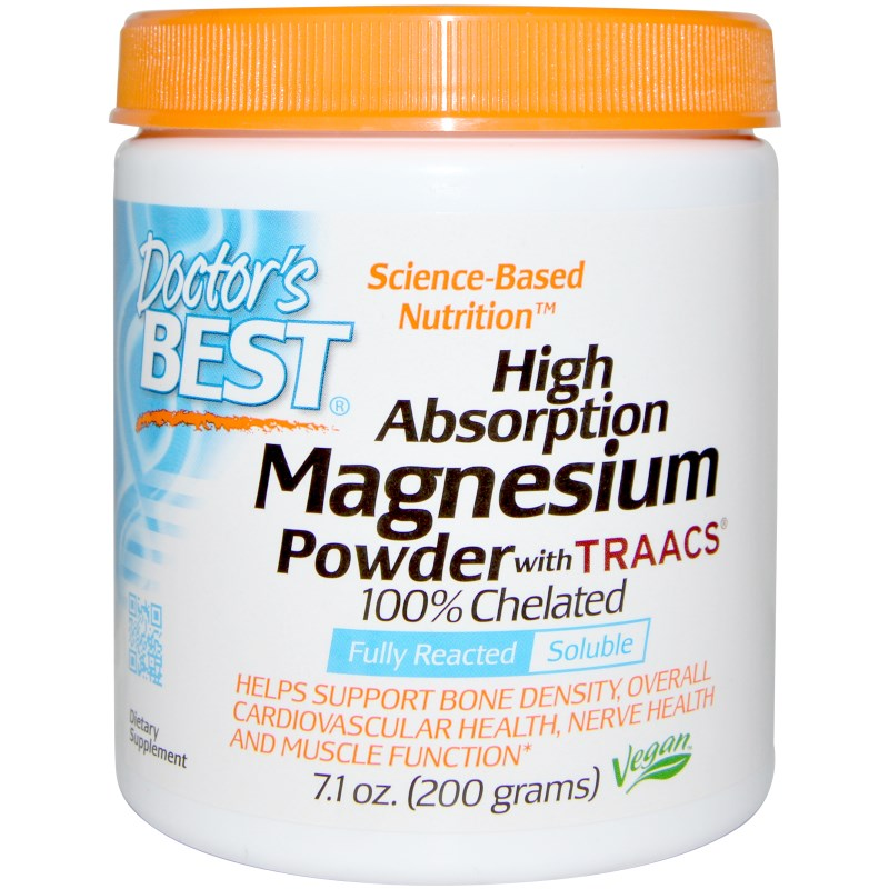 High Absoprtion Magnesium Powder with TRAACS (200 g) Doctor apos s Best