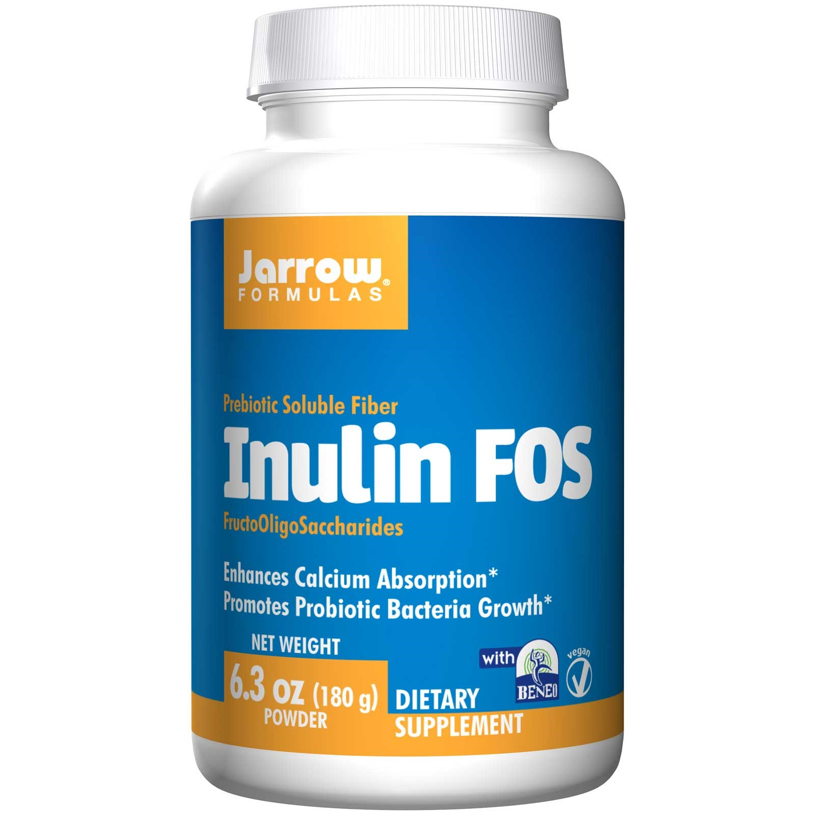 Inulin FOS Powder (180 gram) Jarrow Formulas