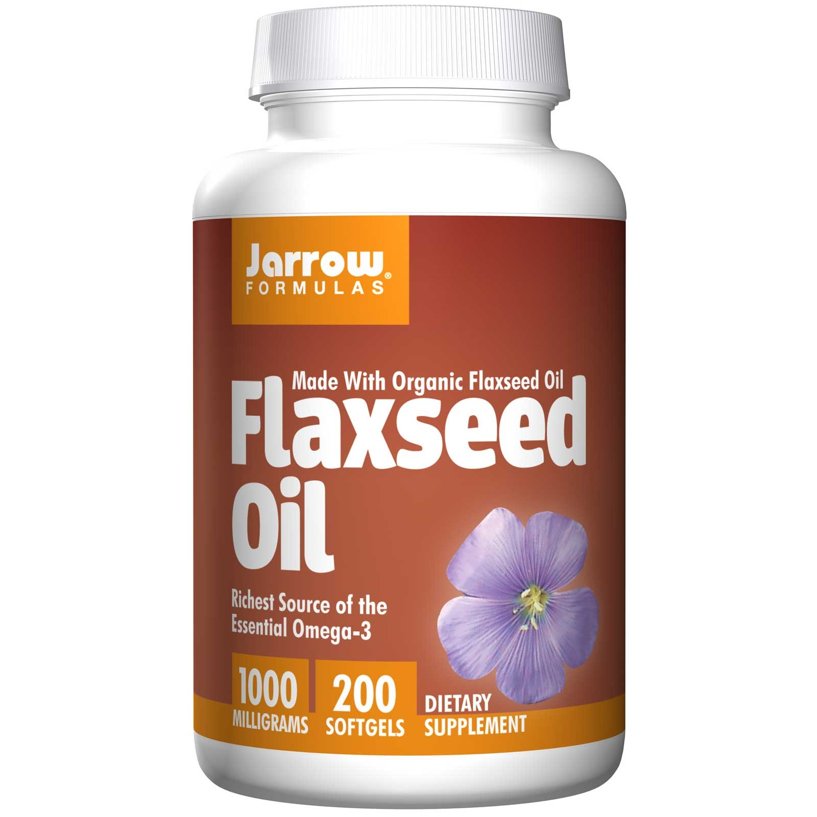 Flaxseed Oil 1000 mg (200 Softgels) Jarrow Formulas