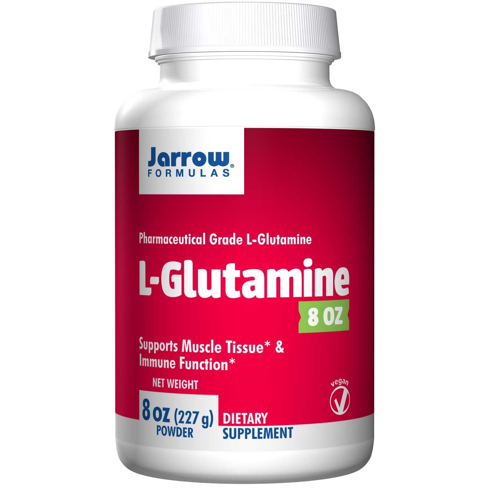L Glutamine Powder (227 gram) Jarrow Formulas