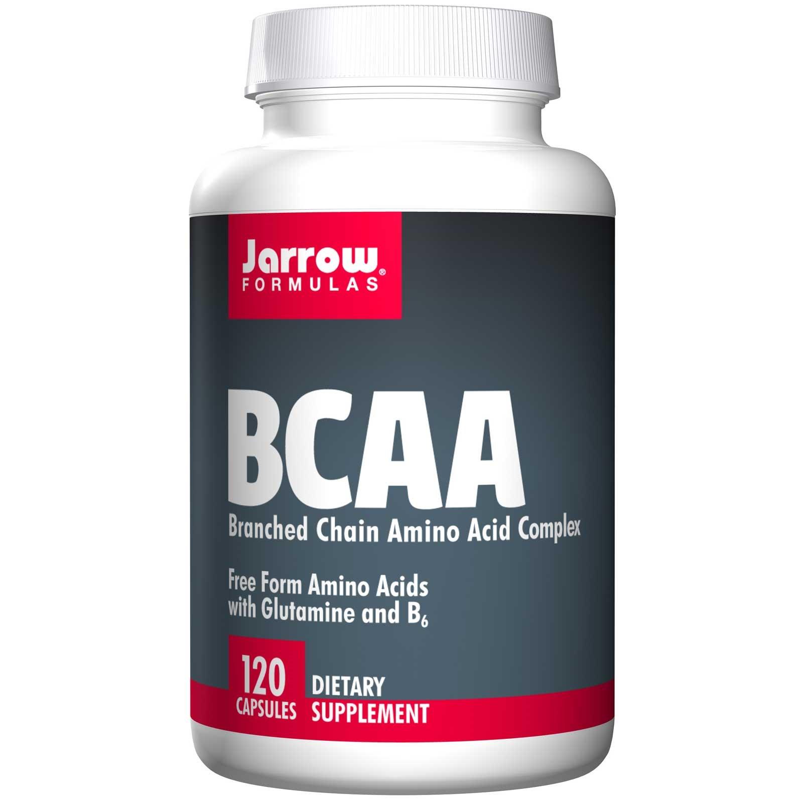 BCAA, Branched Chain Amino Acid Complex (120 Capsules) Jarrow Formulas