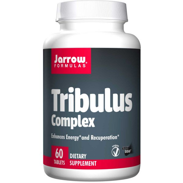Tribulus Complex (60 Tablets) Jarrow Formulas, Jarrow Formulas Tribulus Complex is a blend of standardized Ayurvedic extracts.Extra gegevens:Merk : Jarrow FormulasVerzendkosten : 3.95Levertijd : Vóór 23.00 besteld op werkdagen is morgen in huis.