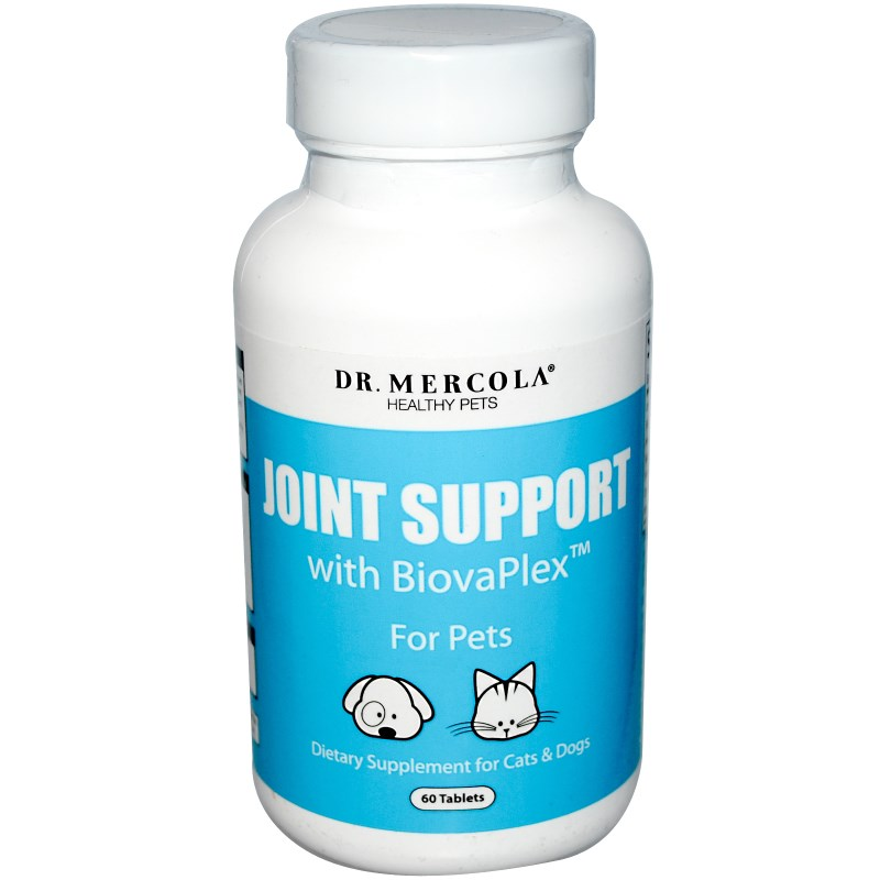 Dr. Mercola Healthy Pets Joint Support, with BiovaPlex for Pets (60 Tablets) Dr. Mercola