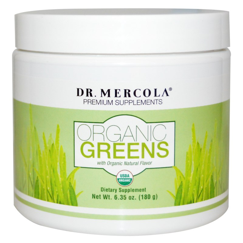 Organic Greens Natural Flavor (180 g) Dr. Mercola