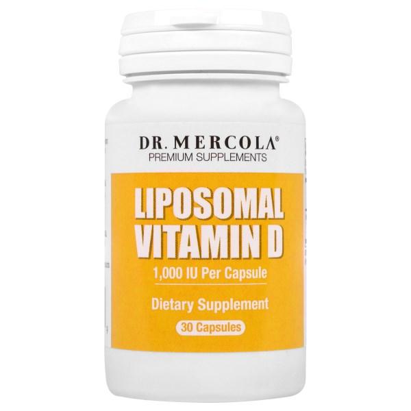 Liposomal Vitamin D 1.000 IU (30 capsules) Dr. Mercola