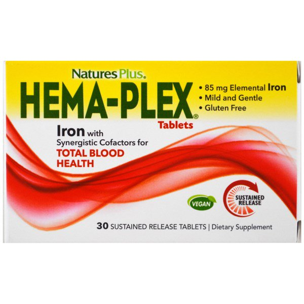 Hema Plex (30 Sustained Release Tablets) Nature apos s Plus