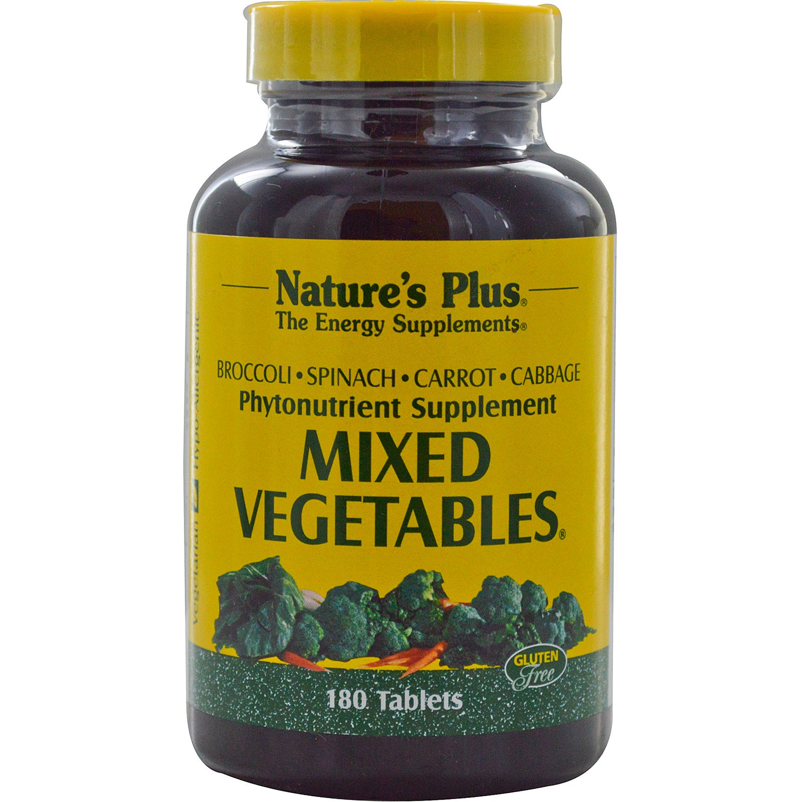 Mixed Vegetables (180 Tablets) Nature apos s Plus