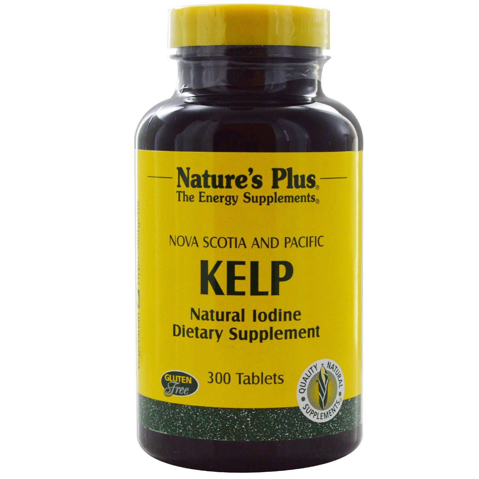 Norwegian Kelp (300 Tablets) Nature apos s Plus