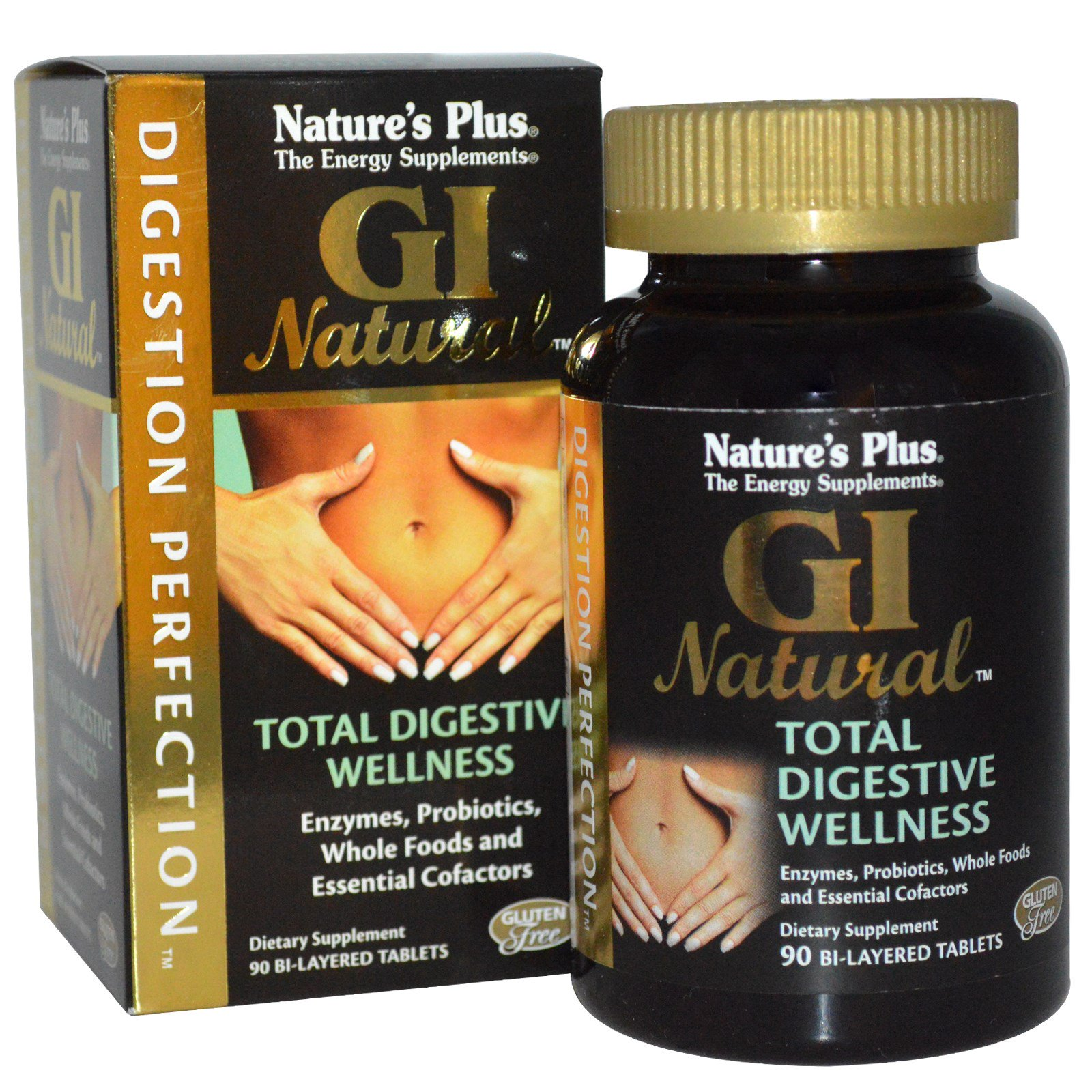Digestion Perfection, GI Natural (90 Bi Layered Tablets) Nature apos s Plus
