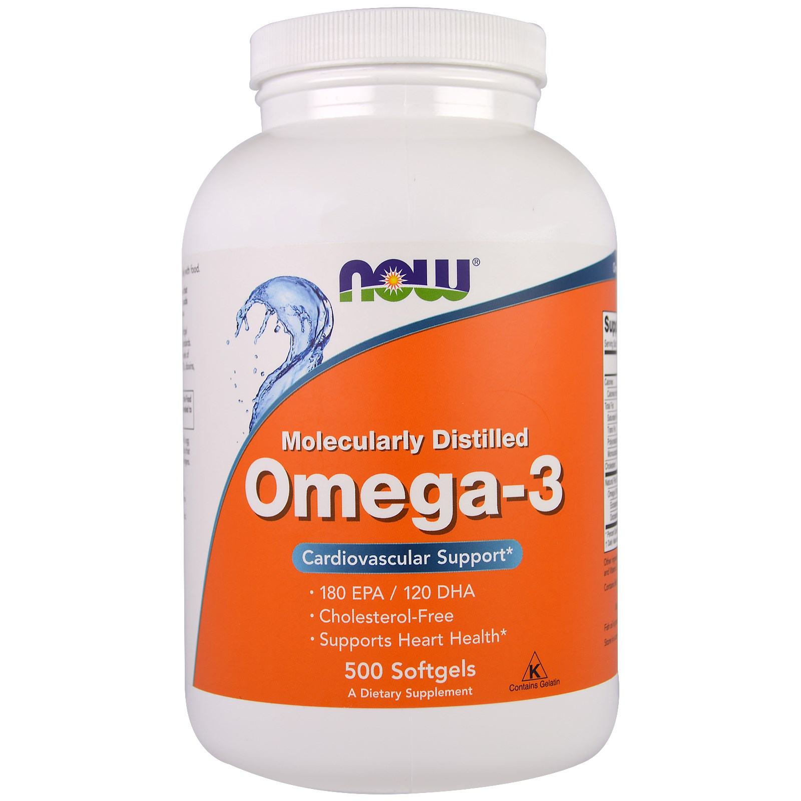 Now Foods Omega 3 (500 Softgels) Now Foods
