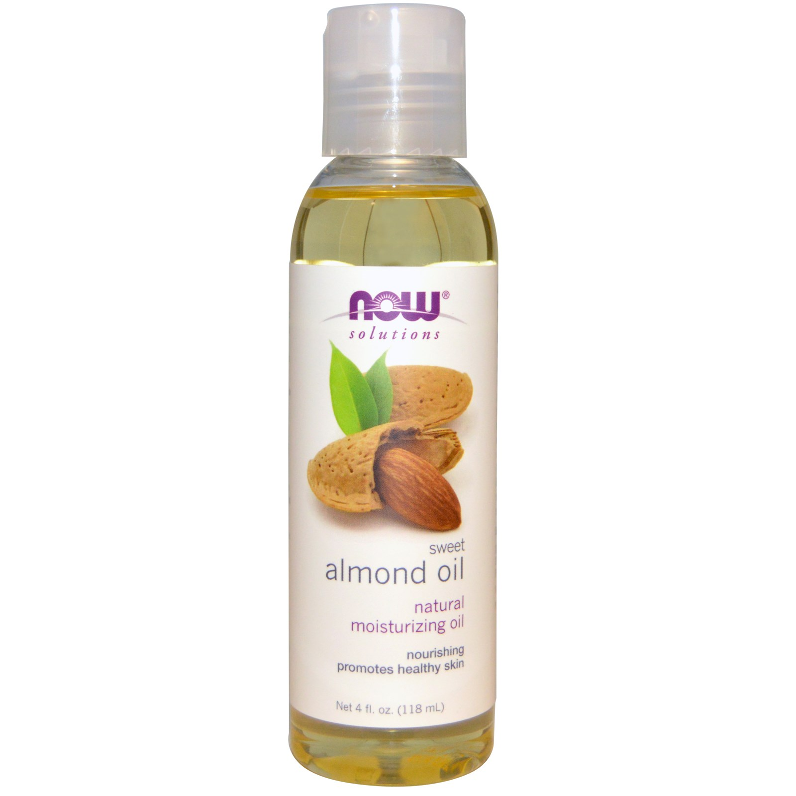 Sweet Almond Oil (118 ml) Now Foods
