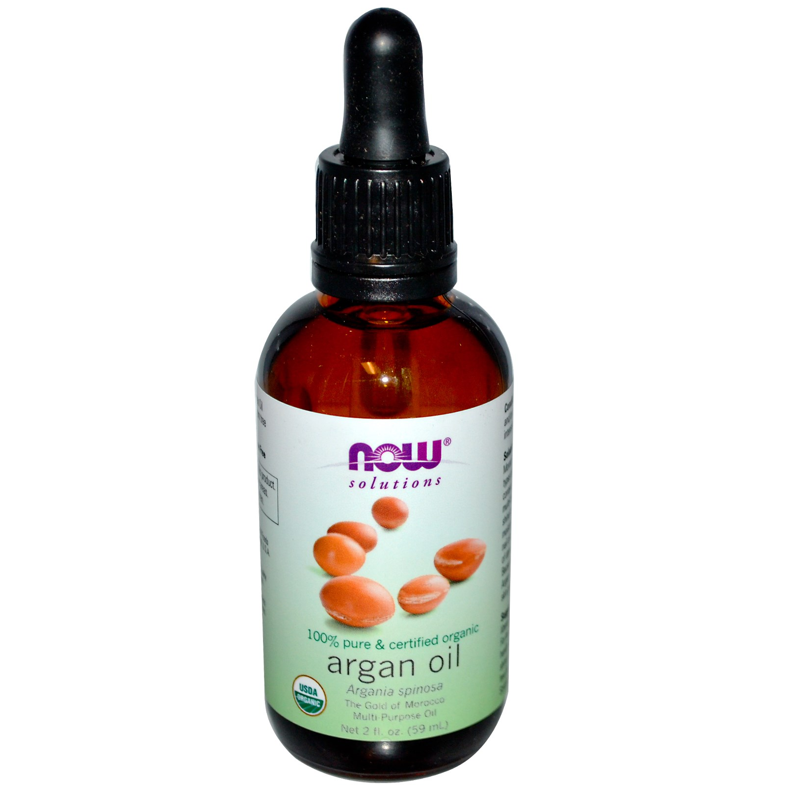 Organic Argan Oil (59 ml) Now Foods