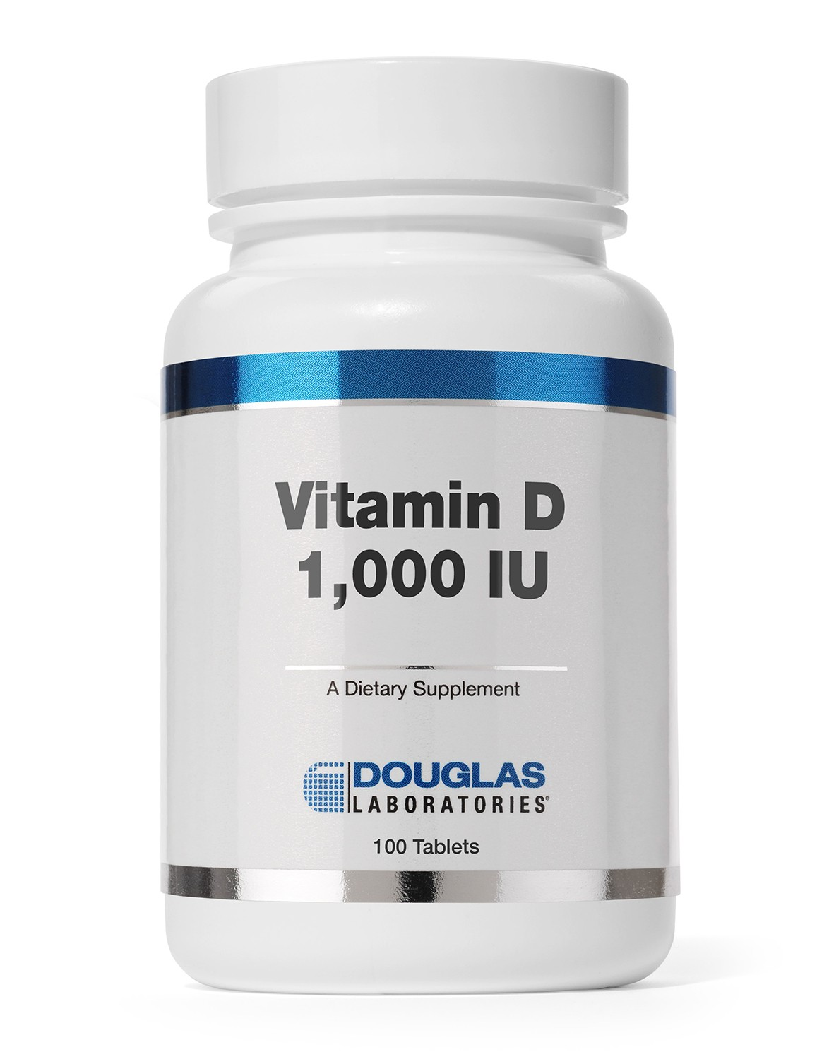 Vitamine D 1000 IU (100 tabletten) Douglas Laboratories