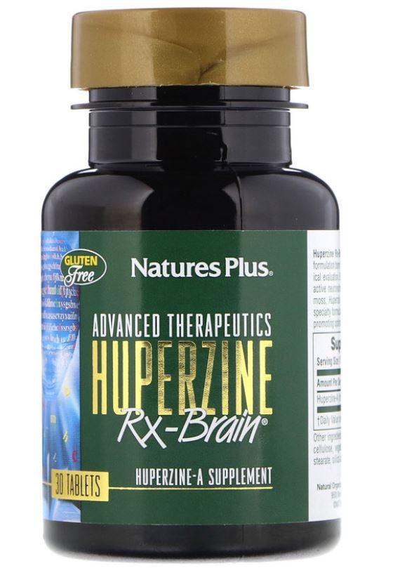 Advanced Therapeutics Huperzine Rx Brain (30 Tablets) Nature apos s Plus