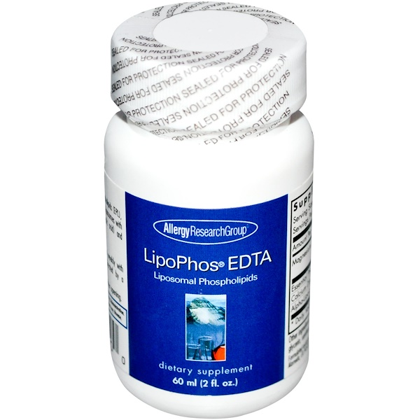 LipoPhos EDTA Liposomal Phospholipids (60 ml) Allergy Research Group