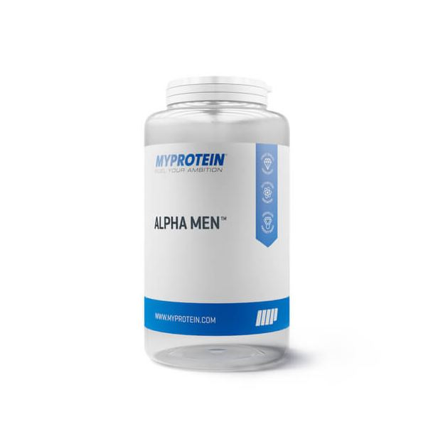 Alpha Men Super Multi Vitamine 120 Tabs MyProtein