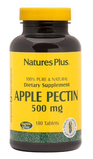 Apple Pectin 500 mg (180 Tablets) Nature apos s Plus