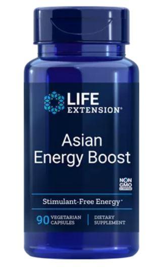 Asian energy boost, 90 plantaardige capsules life extension, De meeste mensen vertrouwen op stimulerende middelen, met name cafeïne, om hun energieniveaus te stimuleren gedurende de dag. Het resultaat is vaak een achtbaan van intense energie gevolgd door een dip in het energieniveau, die tot meer uitputting kan leiden. Een betere manier is om de energie niveaus te stimuleren met de lichaamseigen energiebron ATP (adenosinetrifosfaat). Asian Energy Boost is specifiek ontworpen voor deze energie steun. Blijf alert zonder negatieve gevolgen.Extra gegevens:Merk : Life ExtensionVerzendkosten : 3.95Levertijd : Vóór 23.00 besteld op werkdagen is morgen in huis.