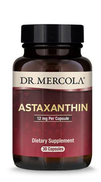 Astaxanthin 12 mg (30 Capsules) Dr. Mercola