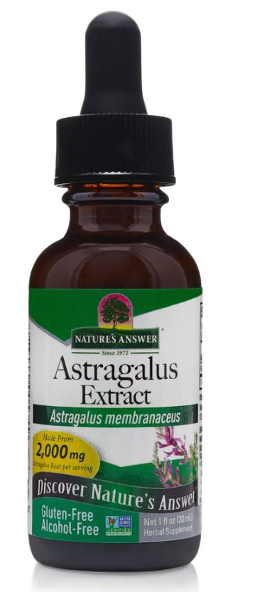 Astragalus, Alcohol Free, 1000 mg (30 ml) Nature apos s Answer