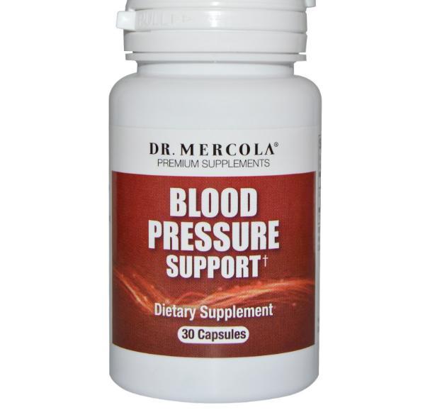 Bloeddruk ondersteuning (30 Capsules) Dr. Mercola
