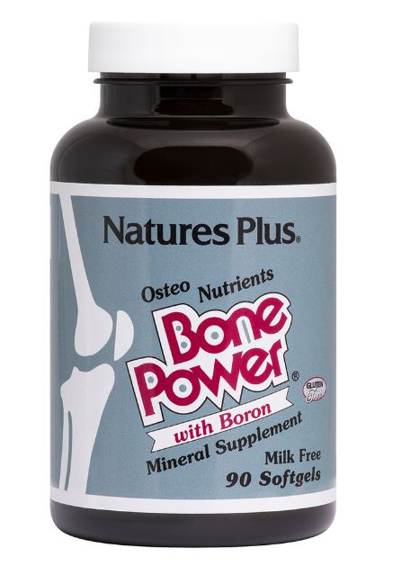 Bone Power with Boron (180 Softgels) Nature apos s Plus