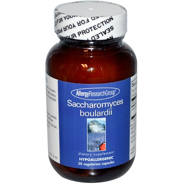 Saccharomyces Boulardii 50 Veggie Caps Allergy Research Group