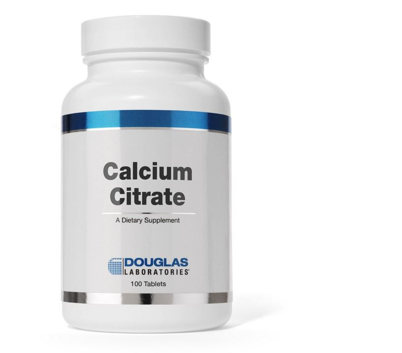 Calciumcitraat (100 tabletten) Douglas Laboratories