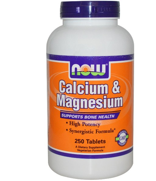 Calcium & Magnesium (2:1) (250 tabletten) - Now Foods