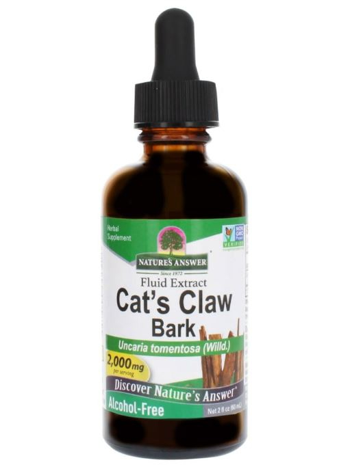 Cat apos s Claw Inner Bark, Alcohol Free, 2000 mg (60 ml) Nature apos s Answer