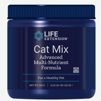 Cat Mix Advanced Multi Nutrient Formula (100 Gram) Life Extension