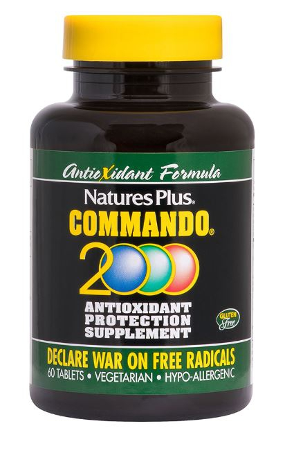 Commando 2000 Antioxidant Protection (90 Tablets) Nature apos s Plus